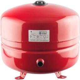 STOUT Расширительный бак на отопление 35 л. (цвет красный) [Stout]