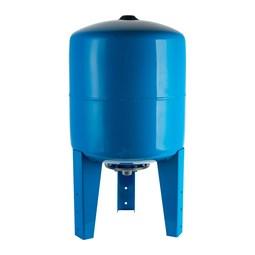 Расширительный бак, гидроаккумулятор 80 л. вертикальный (цвет синий) [Stout]