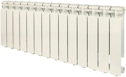 STOUT Bravo 350 14 секций радиатор алюминиевый боковое подключение