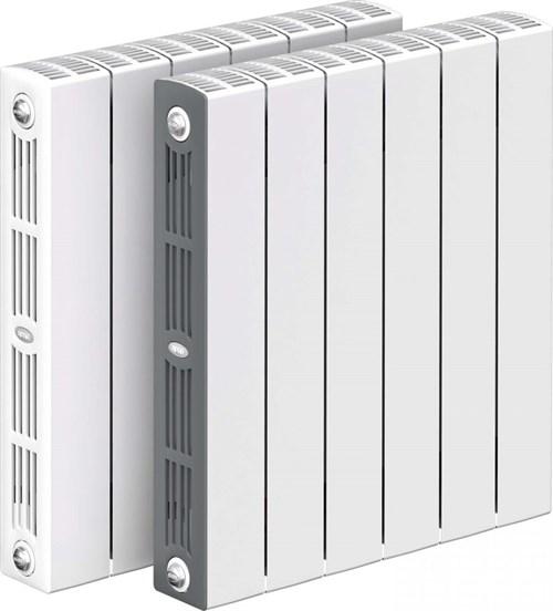 RIFAR SUPReMO 500 9 секций радиатор биметаллический боковое подключение (белый RAL 9016)