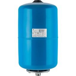 Расширительный бак, гидроаккумулятор 20 л. вертикальный (цвет синий) [Stout]