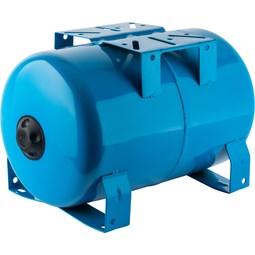 Расширительный бак, гидроаккумулятор 20 л. горизонтальный (цвет синий) [Stout]