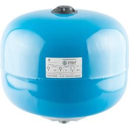 Расширительный бак, гидроаккумулятор 24 л. вертикальный (цвет синий) [Stout]