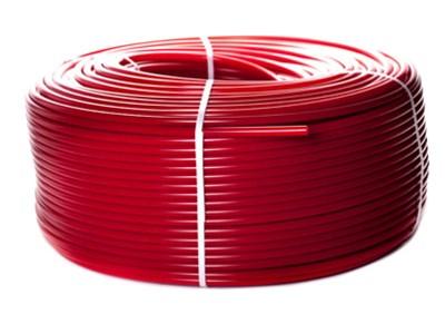 PEX-a труба из сшитого полиэтилена с кислородным слоем (цвет красный) [Stout]