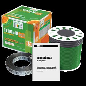 Кабельный теплый пол - Комплект теплого пола GB-850 Green Box