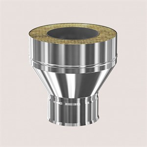 Для отвода конденсата трубы D200/280. Нержавеющая сталь AISI 439 0,8 мм.