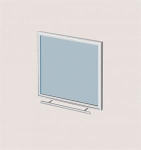 Дверца со стеклом Robax17