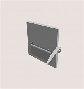 Дверца топочная Куппер ПРО-28
