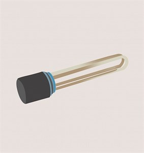 Блок ТЭН 9 кВт с резьбовым фланцем G1-1/2